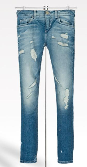 ripped jeans by zara