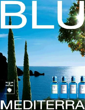 Acqua di Parma's Blue Mediterraneo perfume